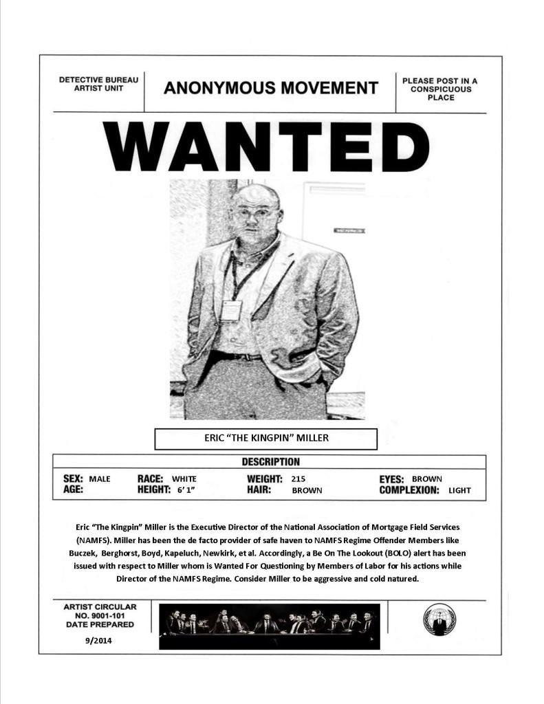 Eric Miller Wanted
